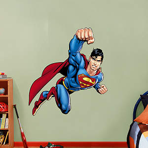 Superman - Man of Steel Fathead Wall Decal